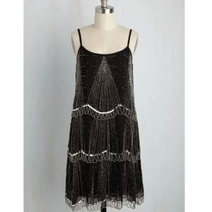 Frock and Frill Beaded Flapper Dress